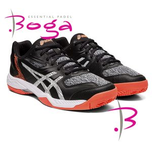 Zapatillas asics gel padel exclusive 5 sg negras