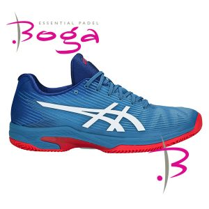 Zapatillas asics gel solution speed azul hombre 1