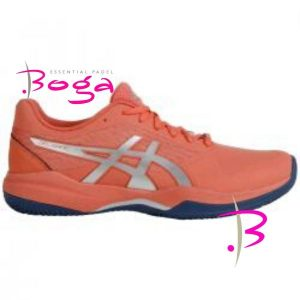 zapatillas asics gel game 7 clay papaya