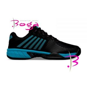 zapatillas kswiss express light 2 negro azul