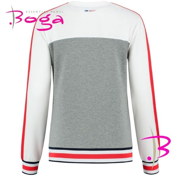 chandal chica kswiss gris 1
